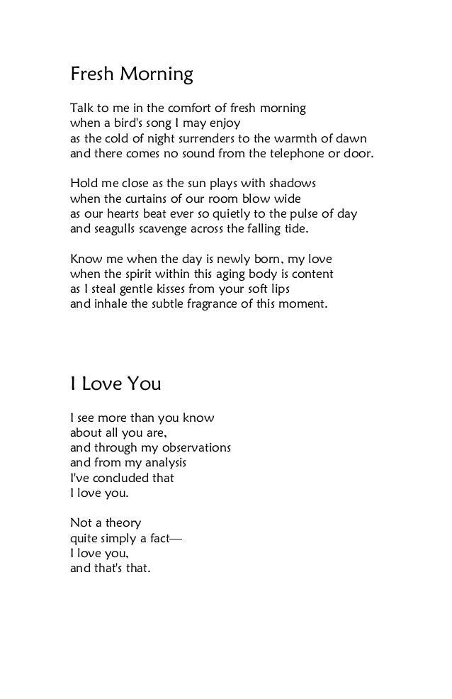 10 Love Poems