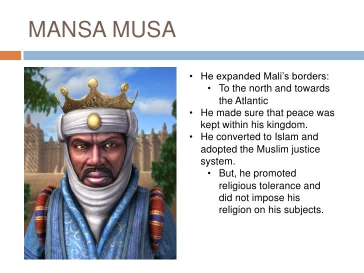 why did mansa musa travel to mecca