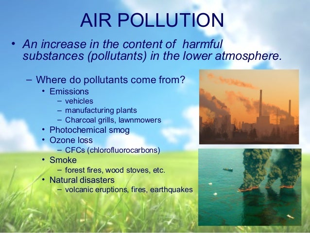 the degeneration of the ozone layer Ozone and your health - ground-level ozone and human health effects.