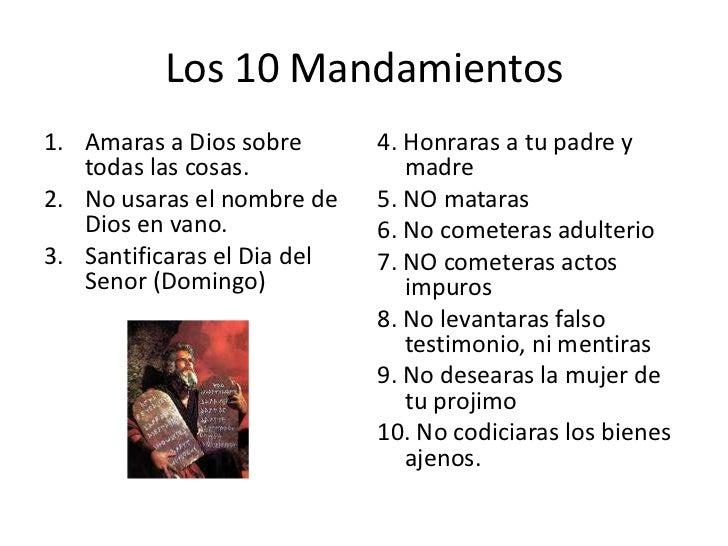 10 mandamientos - Los 10 locos mandamientos ...