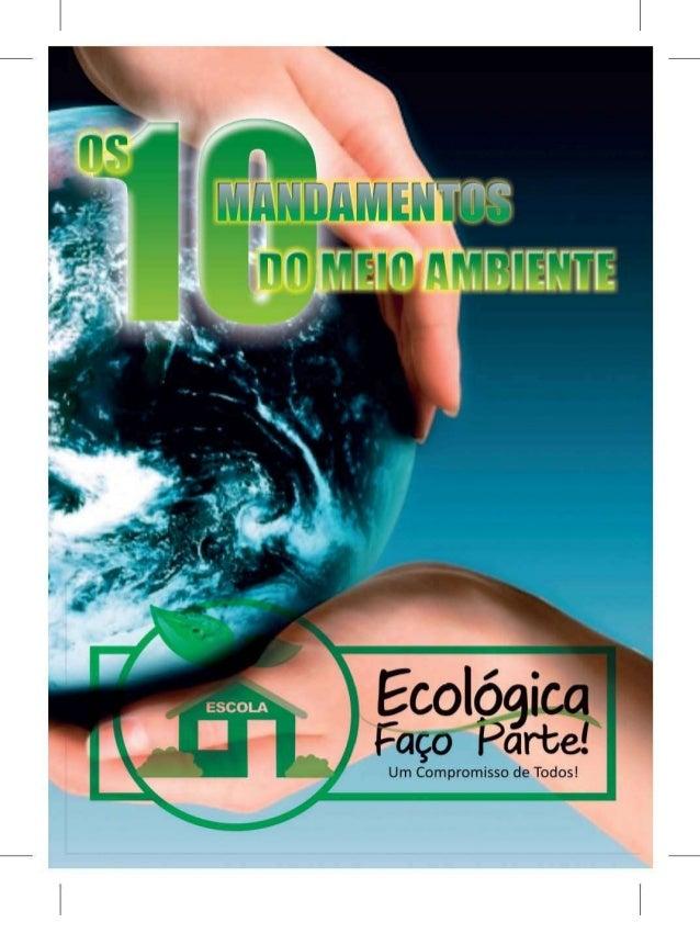 10 mandamentos do meio ambiente 2