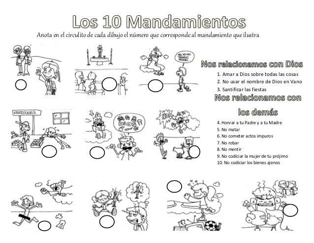 10 mandamientos act dibujos for Que oficina del inem me corresponde