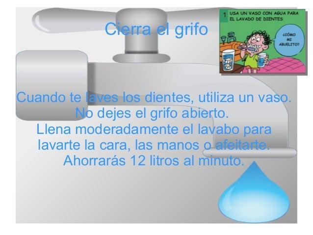 10 maneras de ahorrar agua lorenzo for Maneras para ahorrar agua
