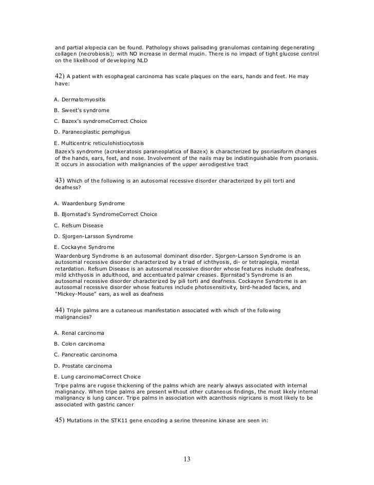 Etasmcq10 manifestations of systemic diseases1 13 and spiritdancerdesigns Choice Image