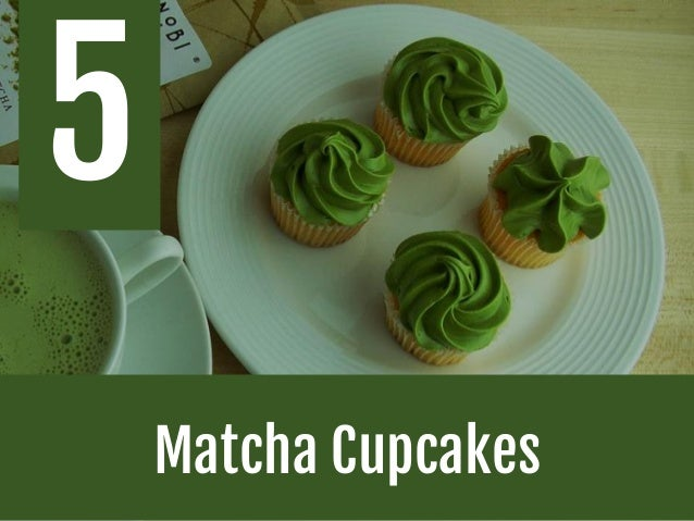 recipe: easy green tea cupcakes [39]