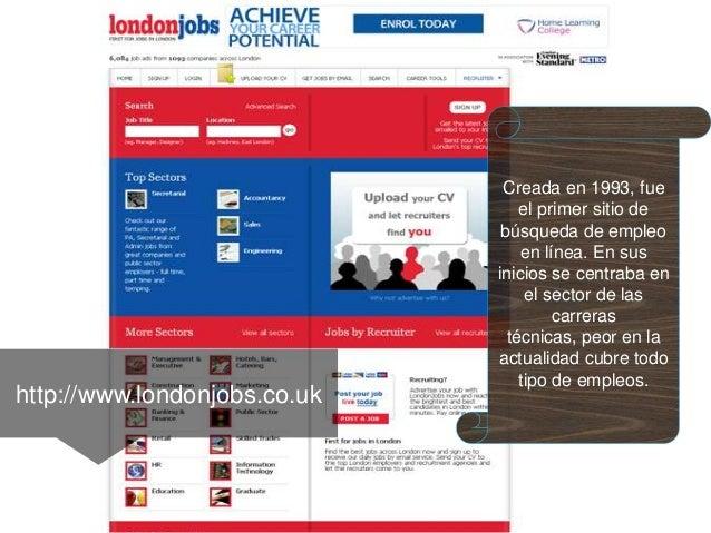 10 mejores sitios web para trabajo en londres for Ofertas de empleo en la linea