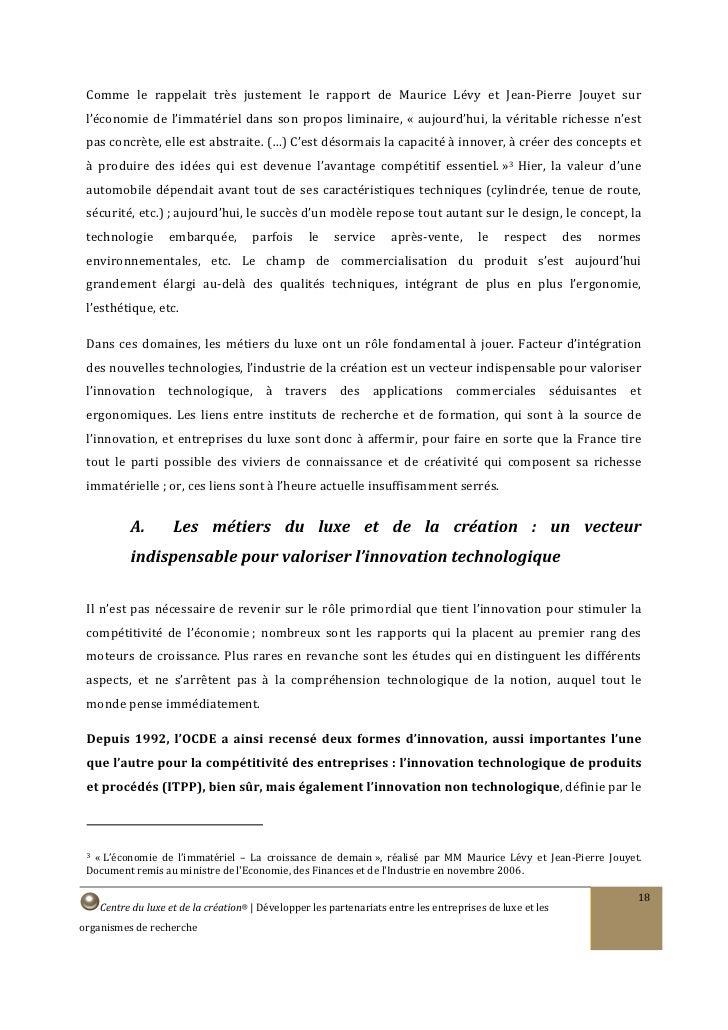 Comme le rappelait très justement le rapport de Maurice Lévy et Jean-Pierre Jouyet sur  l'économie de l'immatériel dans so...