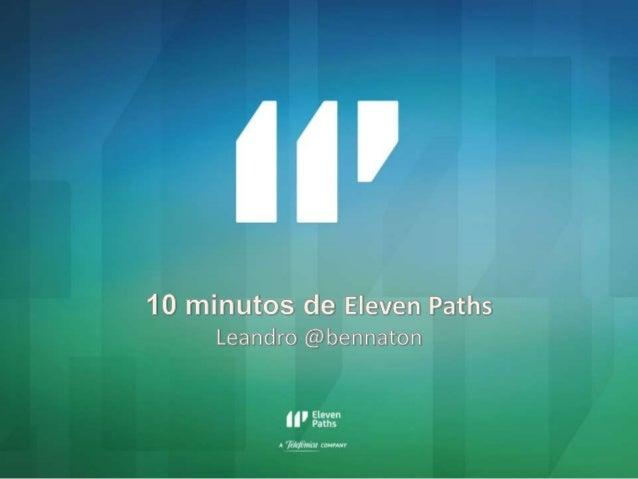 1elevenpaths.com