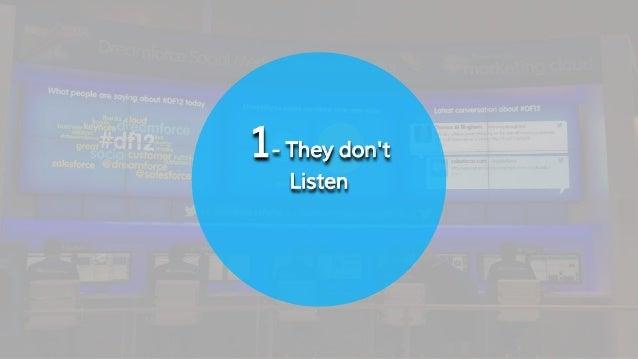 10 mistakes brands should avoid on Social Media #mkbeirut Slide 3