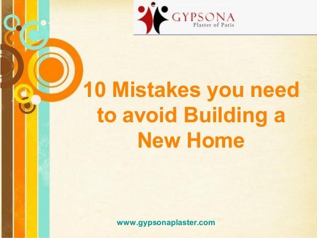 Top Gypsum Plaster Manufacturer in India – Gypsona Plaster