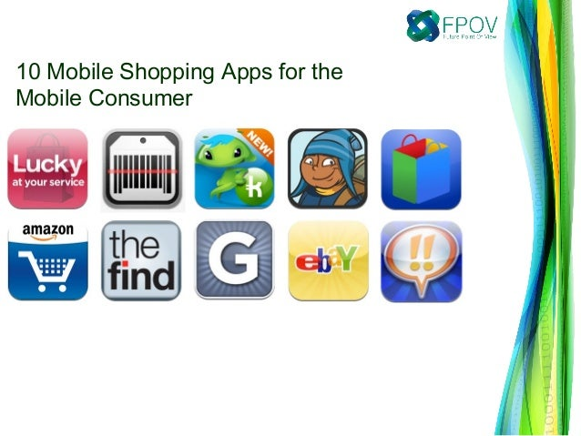 10 Mobile Shopping Apps for the Mobile Consumer