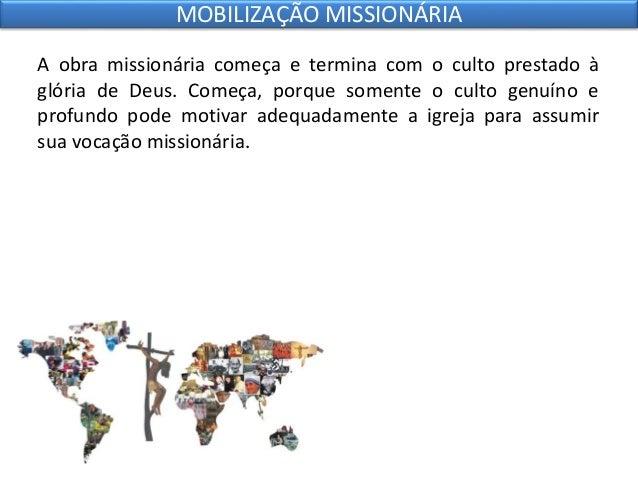 10 mobilização missionária Slide 3