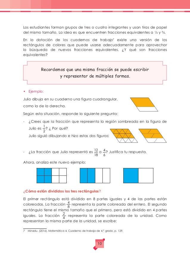 matemática fracciones
