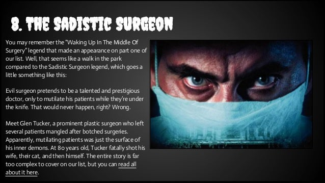 The Sadistic Doctor