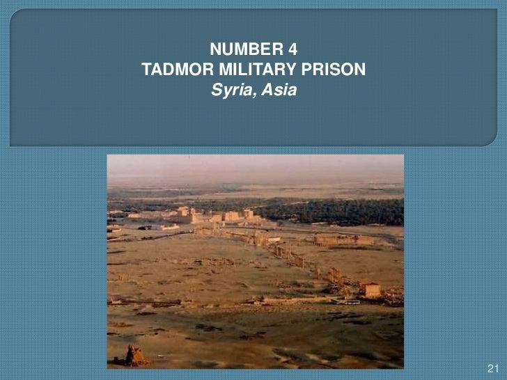 Buletin Cinta: 11 Penjara Paling Sadis di Dunia