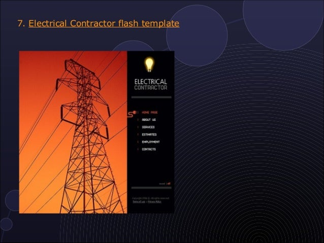 10 most popular electrical website templates