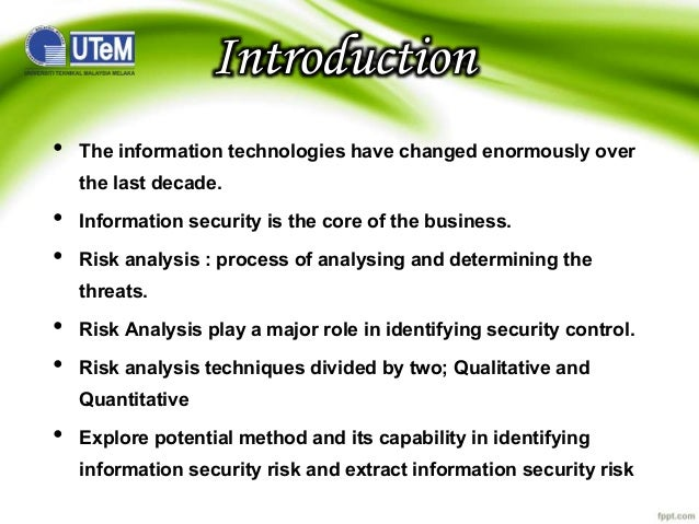 threats to information system security Information systems are frequently exposed to various types of threats which can  cause different types of damages that might lead to significant financial losses.