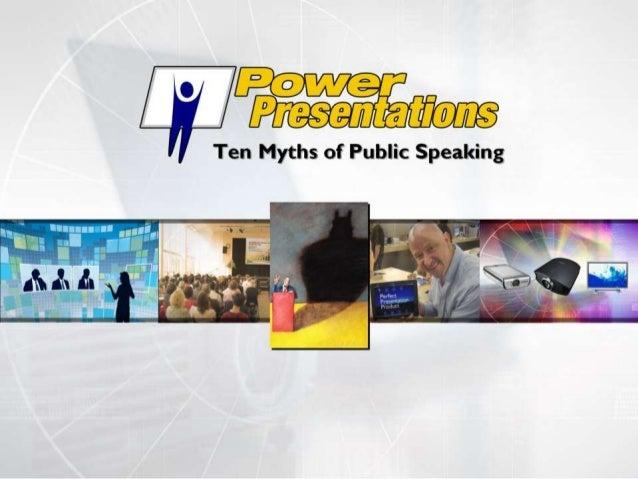 10 myths of public speaking