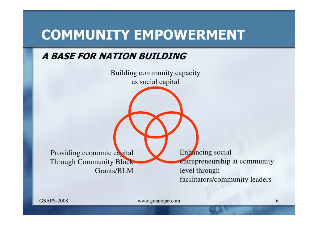 """education and community empowerment improved education The school and community better support parents in guiding and directing their children's holistic development"""" their frame of reference is much wider, and truly places the child at the centre of the discussion 6 increasing parent engagement may be an ideal place for schools and community services to collaborate."""