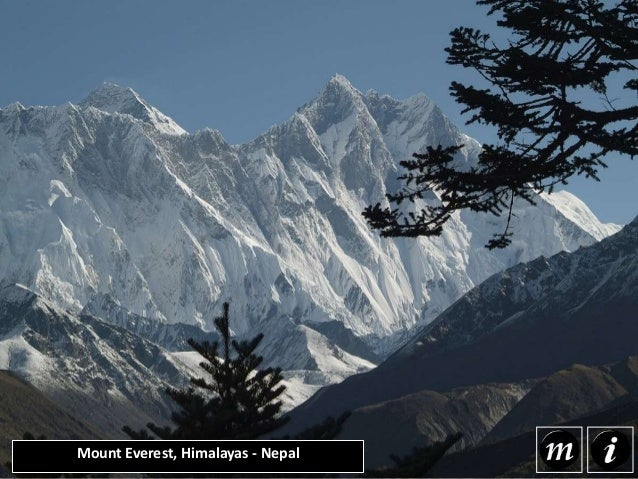 Mount Everest, Himalayas - Nepal Mount Everest is the highest mountain in the world with the summit reaching a peak of 29,...
