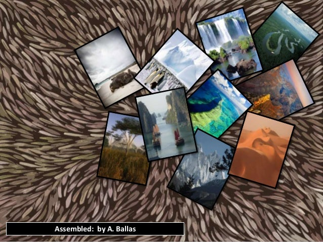 10 Natural Wonders of the World (PowerPoint)