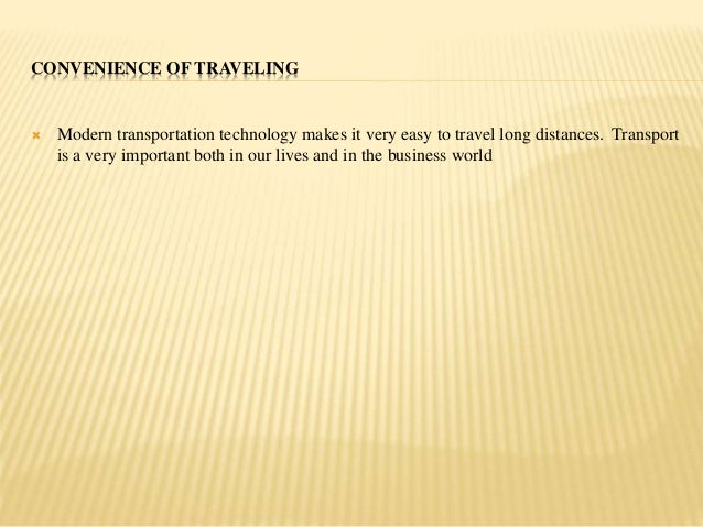 improved communication technology and transport Technology has advanced to the point where instant communication anywhere in the world is an everyday fact of life there's no question that technology has improved, but also it has had a positive impact on communication as a whole in many ways.