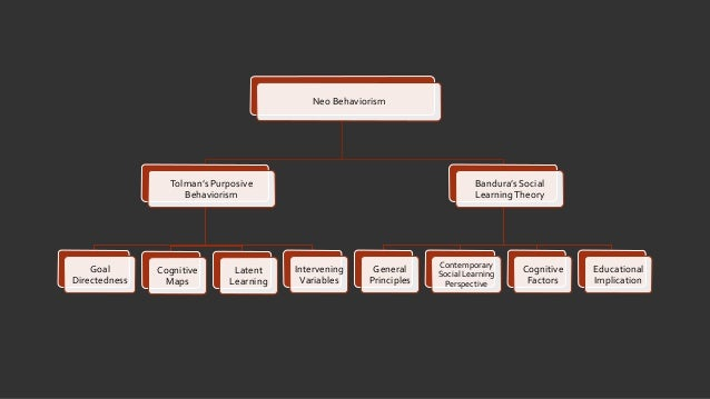 neo behaviorism tolman and bandura View and download powerpoint presentations on neo behaviorism tolman and bandura ppt find powerpoint presentations and slides using the power of xpowerpointcom.