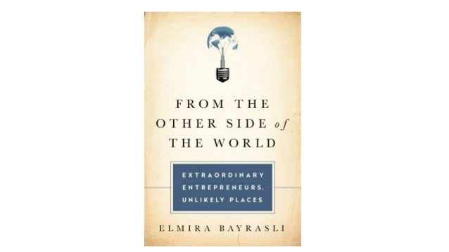 Startup Istanbul 2016 / Elmira Bayrasli - Author From the Other Side of the World
