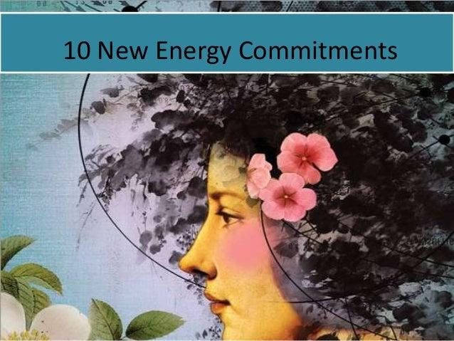 10 New Energy Commitments