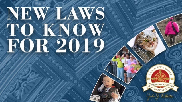 T O P 1 0 NEW LAWS FOR 2019 10 new laws to know for 2019