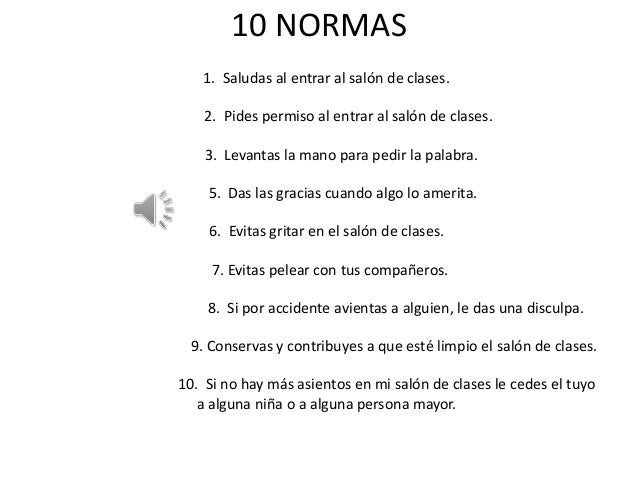 10 normas for 10 reglas del futbol de salon