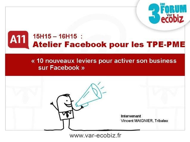 Présentation Vincent Maignier  ! Community Manager TPE-PME !  Fondateur de l'agence Tribaleo 2