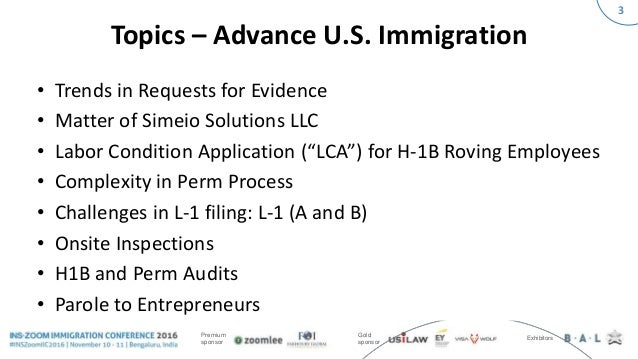 INSZoom Immigration Conference 2016 - Advance U S  Immigration