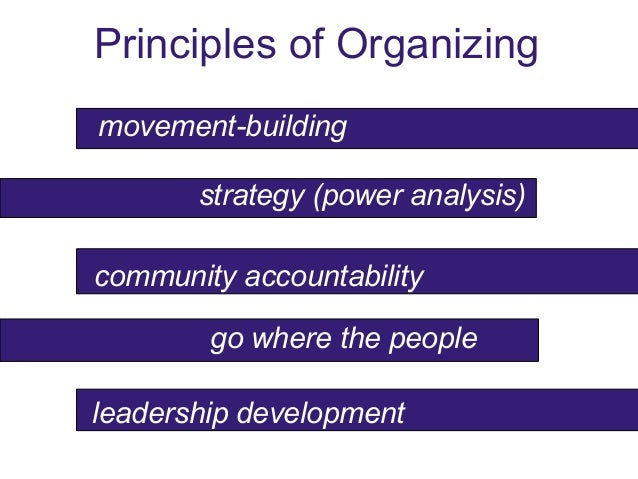 bringing community organizing into online social media campaigns as