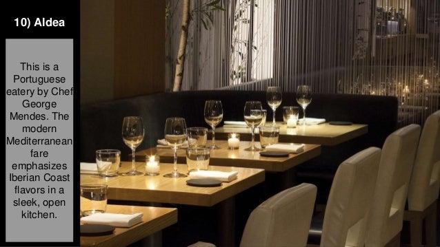 New York City Fine Dining 10 Must See Restaurants