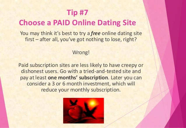 Best paid online dating