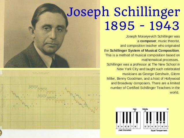 JOSEPH SCHILLINGER PDF DOWNLOAD