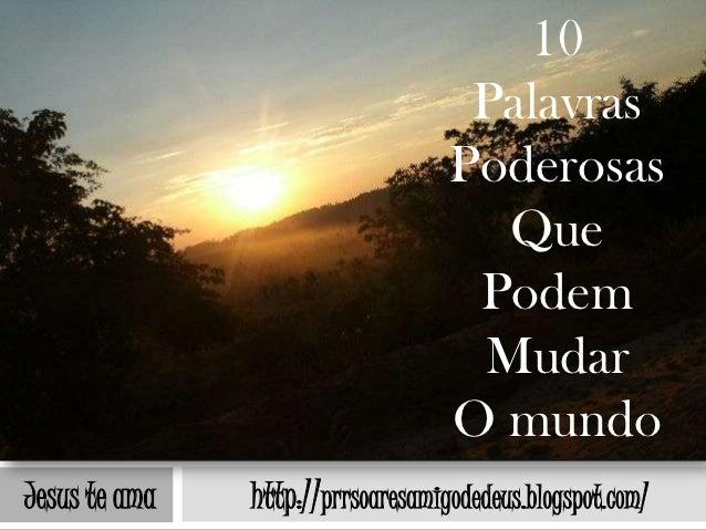 10                                    Palavras                                   Poderosas                                ...