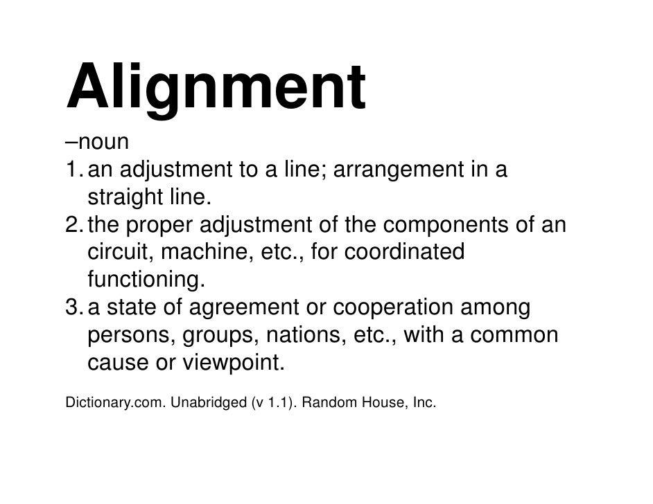 10 Steps to Organizational Alignment Slide 3