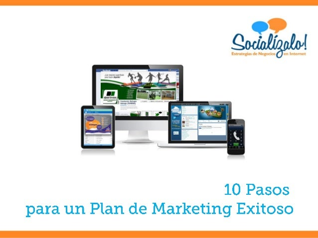 10 Pasos para un Plan de Marketing Exitoso