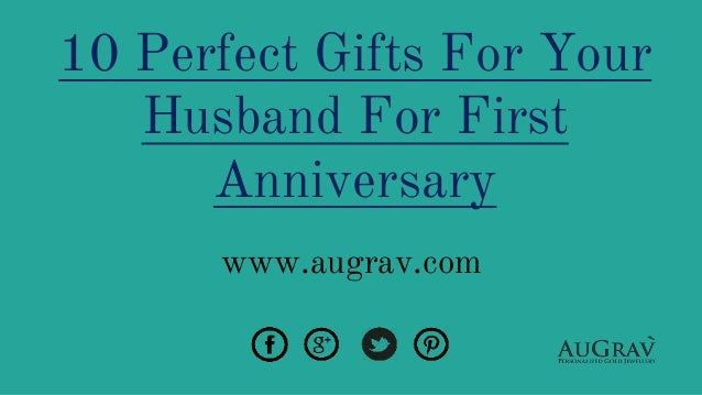 Gift For Husband On 1st Wedding Anniversary: 10 Perfect Gifts For Your Husband For First Anniversary