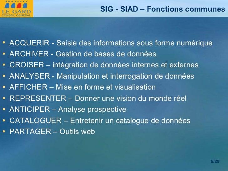 <ul><li>ACQUERIR - Saisie des informations sous forme numérique </li></ul><ul><li>ARCHIVER - Gestion de bases de données <...