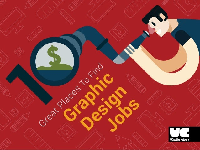 10 places to find graphic design jobs for Grafik design job