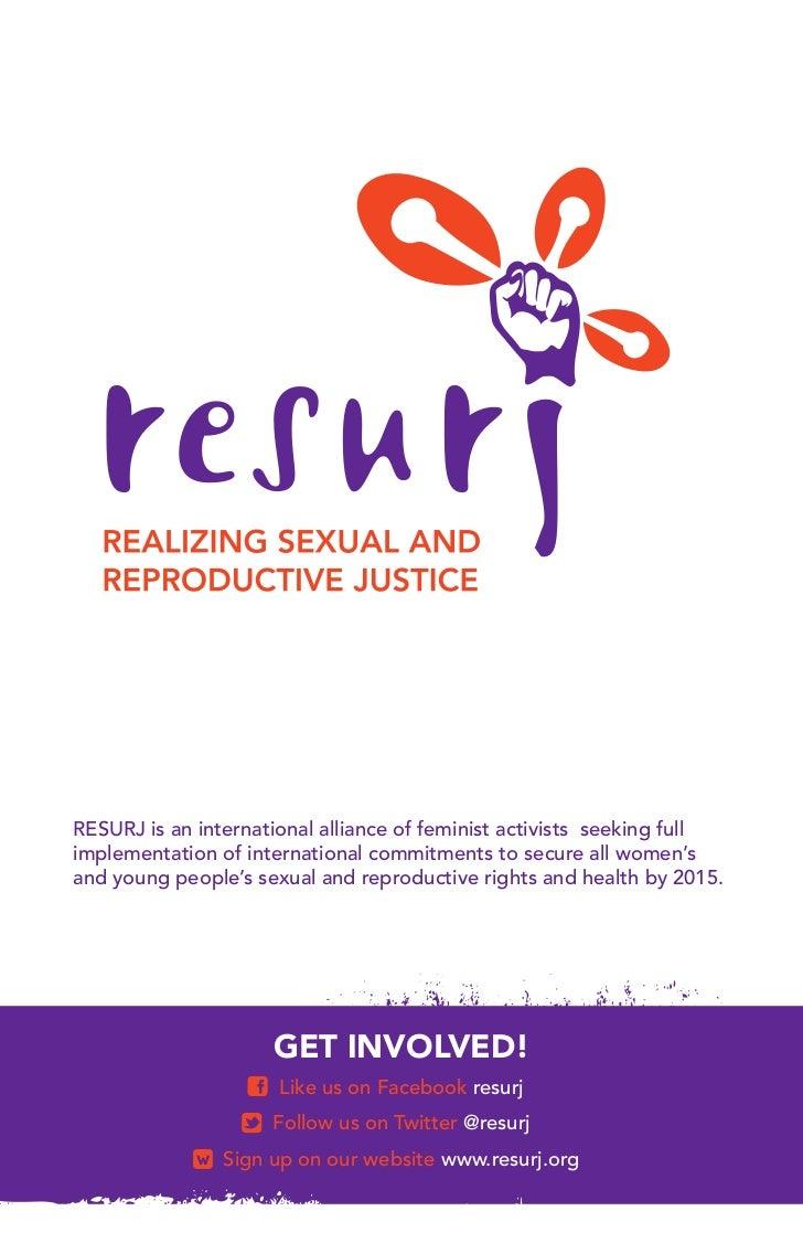 RESURJ is an international alliance of feminist activists seeking fullimplementation of international commitments to secur...