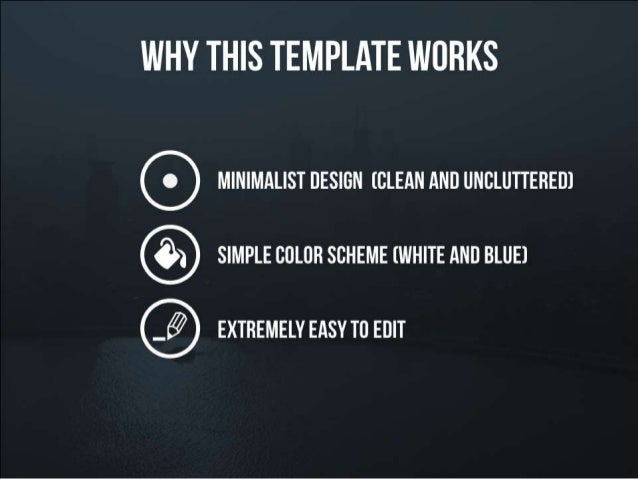 Why this presentation template works toneelgroepblik Choice Image