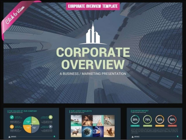 Corporate Overview Presentation Template