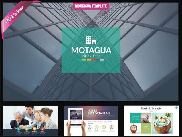 Montagua Presentation Template
