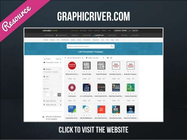 Resource – Graphic River – click to visit the website