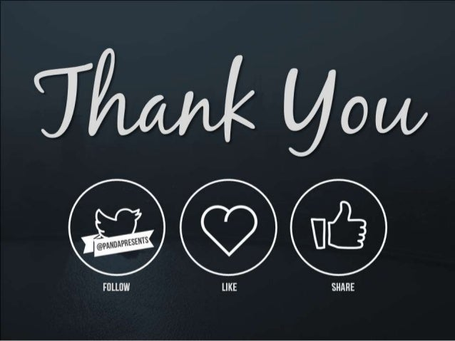 thank you! – don't forget, Modern powerpoint