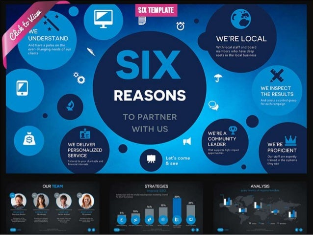 Six Presentation Template